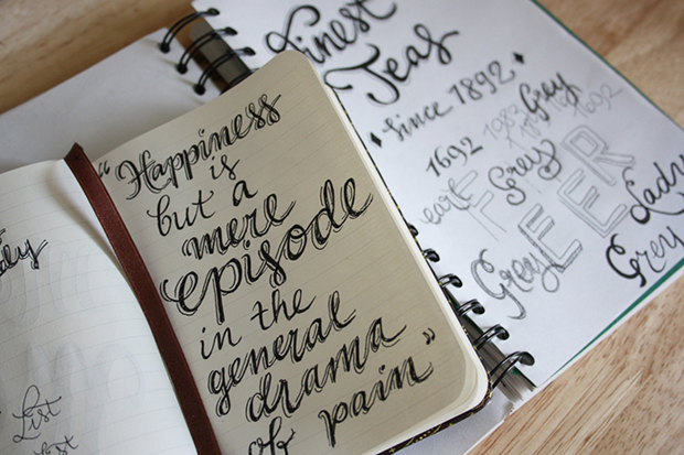 Claire's Sketchbooks