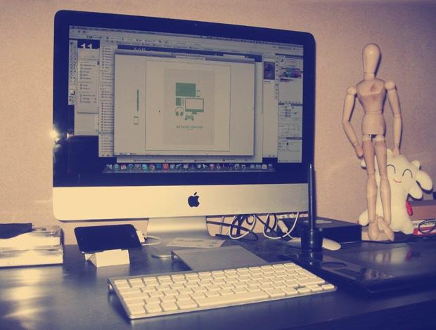 Kamil's Desk