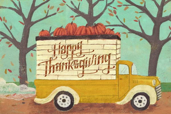 Thanksgiving Illustration