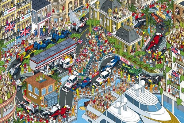 Monaco, Rod Hunt-style
