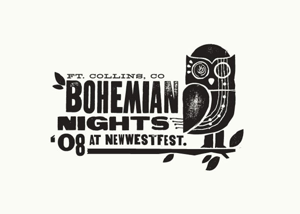 Bohemian Night Logo