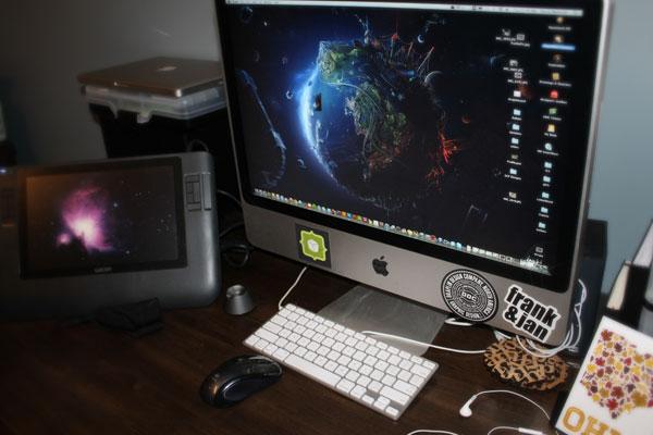 Dave's workspace