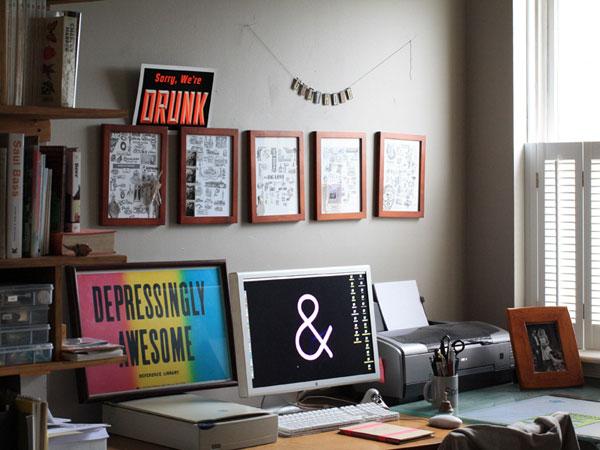 Dan's Desk