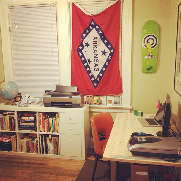 Zach's workspace