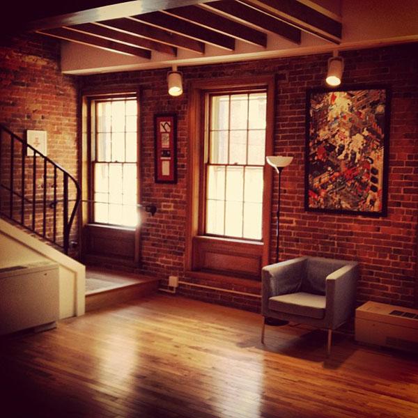 Dribbble HQ Downstairs - Rich Thornett Interview