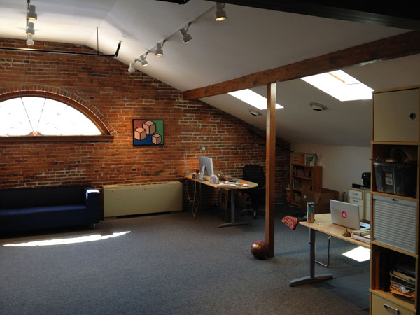 Dribbble HQ Upstairs - Rich Thornett Interview