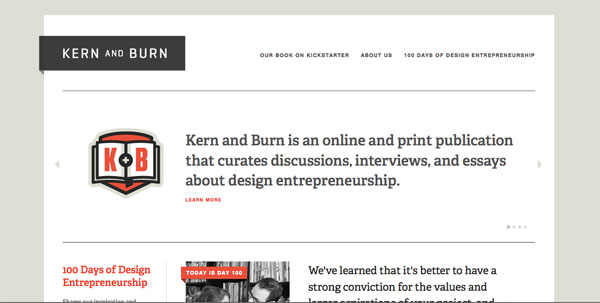 Kern and Burn