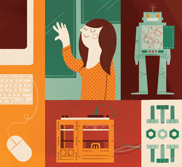 Think Illustration - Lydia Nichols Interview