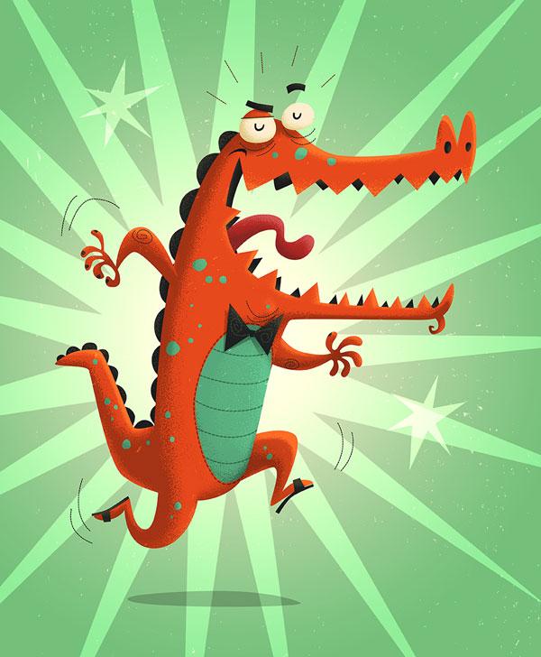 Crocodile - Steve Simpson Interview