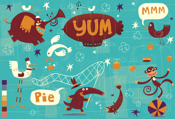 Yum Pie - Steve Simpson Interview