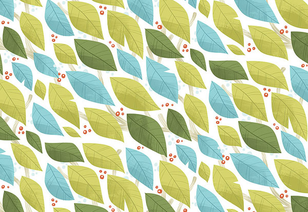 Leaf Pattern - Melanie Matthews Interview