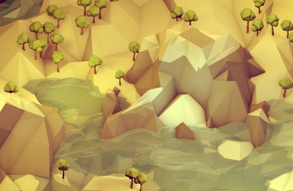 Low-Poly Landscape - Timothy J. Reynolds Interview